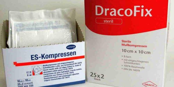 Kompressen zur Wundversorgung