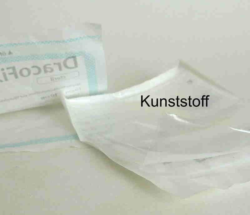Kunststoffverpackung bei Hartmann Kompressen
