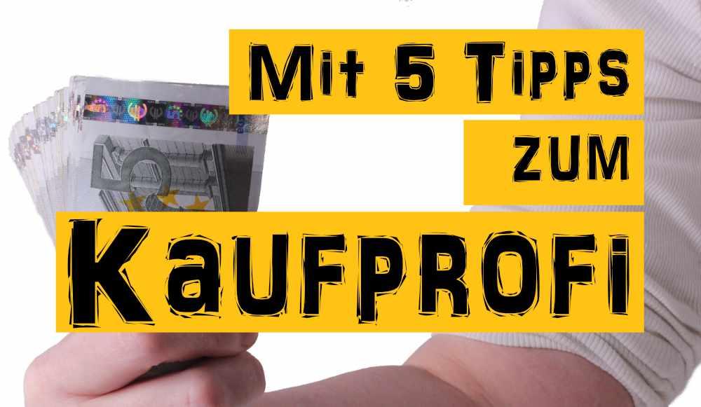 5 Tipps zum einkaufen